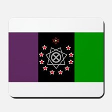 the Flag of the Nation Of Thelema Mousepad