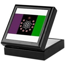 the Flag of the Nation Of Thelema Keepsake Box