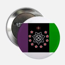 """the Flag of the Nation Of Thelema 2.25"""" Button"""