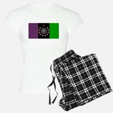 the Flag of the Nation Of Thelema Pajamas