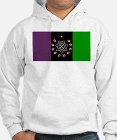 the Flag of the Nation Of Thelema Hoodie