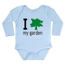 garden Long Sleeve Infant Bodysuit
