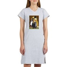 The Kiss - Two Bernese Women's Nightshirt