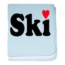 ski baby blanket