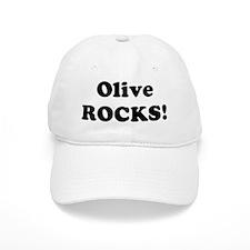 Olive Rocks! Baseball Cap