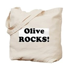 Olive Rocks! Tote Bag