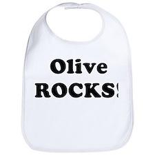 Olive Rocks! Bib