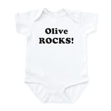 Olive Rocks! Infant Bodysuit