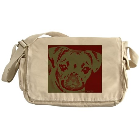 miniboxer_border.jpg Messenger Bag