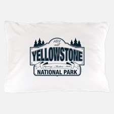 Yellowstone NP Blue Pillow Case