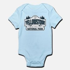 Yellowstone NP Blue Infant Bodysuit