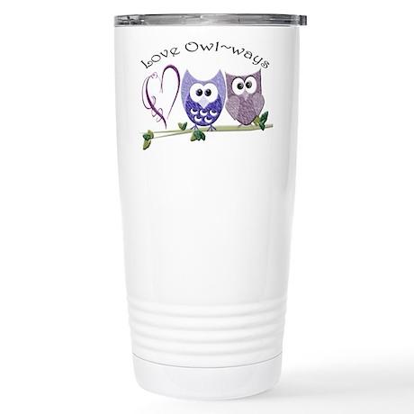 Love Owl~ways Stainless Steel Travel Mug