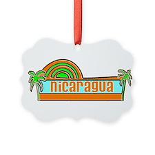 Cute Nicaragua Ornament