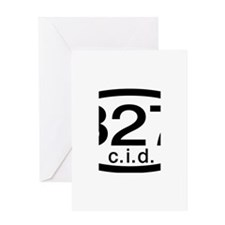 Chevy 327 c.i.d. Greeting Card