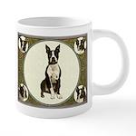 Boston Terrier Collage 20 oz Ceramic Mega Mug