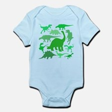 FUN! LOTS of DINOSAURS! Infant Bodysuit
