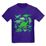 Dinosaurs Kids T-shirts (Dark)