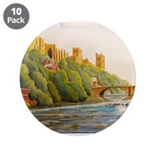 """Durham Cathedral 3.5"""" Button (10 pack)"""