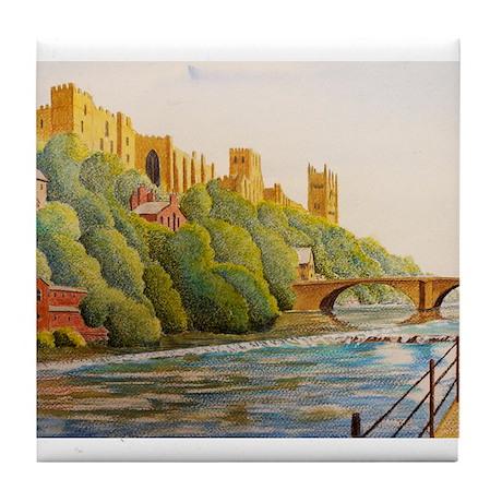 Durham Cathedral Tile Coaster