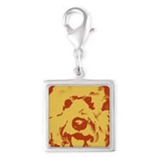 goldenDoodle_2tone_type1.jpg Silver Square Charm