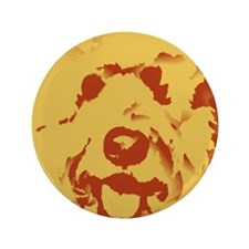 """goldenDoodle_2tone_type1.jpg 3.5"""" Button"""