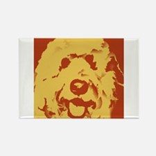 goldenDoodle_2tone_type1.jpg Rectangle Magnet