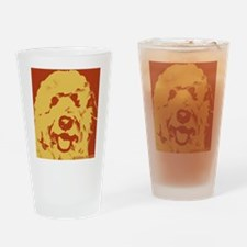goldenDoodle_2tone_type1.jpg Drinking Glass