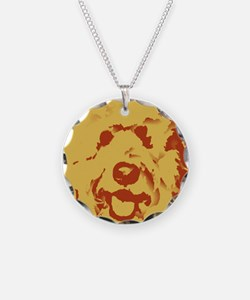 goldenDoodle_2tone_type1.jpg Necklace