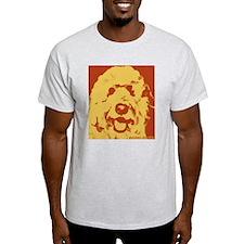 goldenDoodle_2tone_type1.jpg T-Shirt