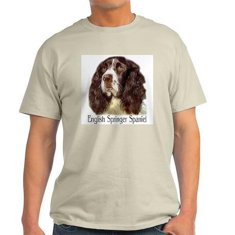English Springer Spaniel Gift Ash Grey T-Shirt