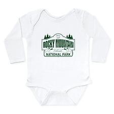 Rocky Mountain National Park Long Sleeve Infant Bo