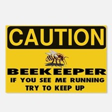 Funny Bee humor Postcards (Package of 8)