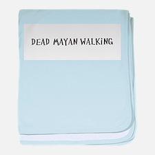 Dead Mayan Walking baby blanket