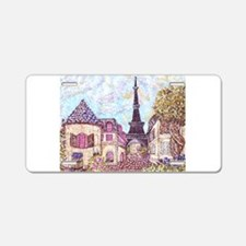 ParisCityscapePointillism021511.jpg Aluminum Licen