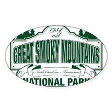Great Smoky Mountains National Park Decal