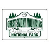 Great smoky mountains national park Banners