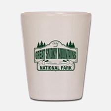 Great Smoky Mountains National Park Shot Glass