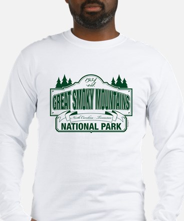 Great Smoky Mountains National Park Long Sleeve T-