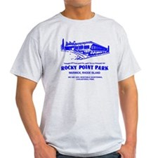 Shore Dinner Hall Clam Cake Blue T-Shirt
