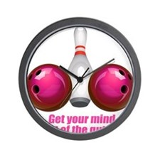 Get your Mind out of the Gutter (pink).png Wall Cl