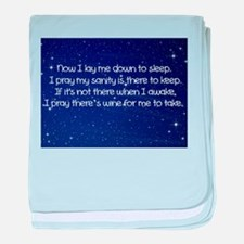 Sanity Prayer baby blanket
