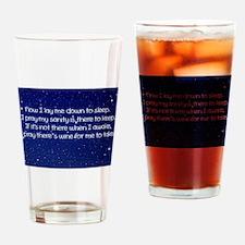 Sanity Prayer Drinking Glass