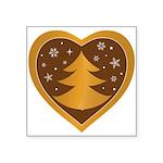 Merry Christmas Square Sticker 3