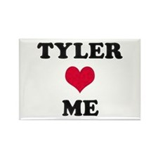Tyler Loves Me Rectangle Magnet