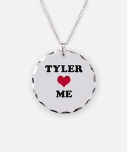 Tyler Loves Me Necklace