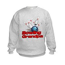 Bowling Grandpa strike).png Sweatshirt