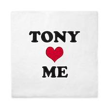 Tony Loves Me Queen Duvet