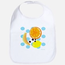 Polka Dot Fruit Salad Bib