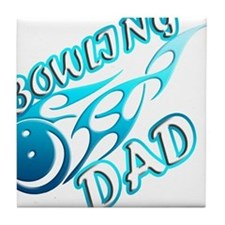Bowling Dad (flame) copy.png Tile Coaster