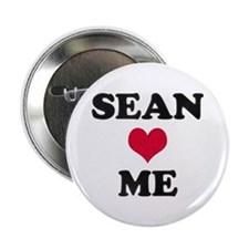 Sean Loves Me Button